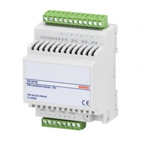 Chorus KNX Easy BUS - Amplificator pentru actuator dimmer LED CVD - 4 canale - 10A 12-24V DC - Sina DIN - 4M